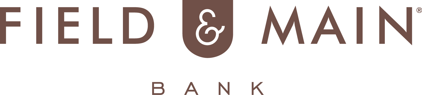 FAM Bank logo brown